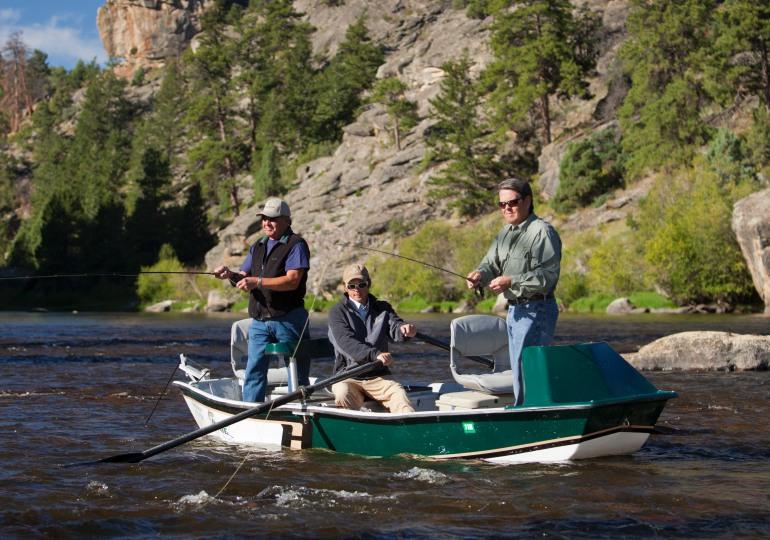 Wyoming Luxury Upland Hunting, Fishing & Horseback