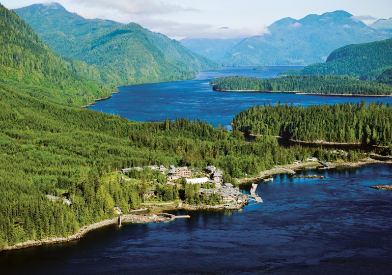 Luxury Fishing Resort & Eco Tourism British Columbia