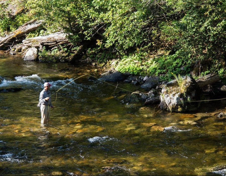 Idaho Back Country Fishing
